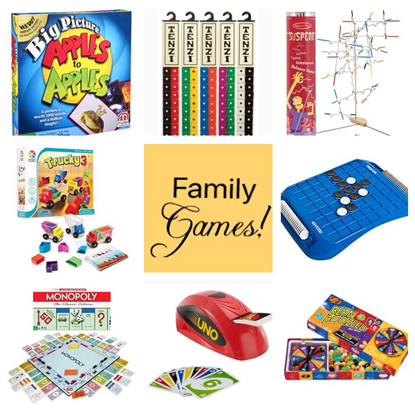 Favorite Board Games for the Elementary Ages (and even younger)