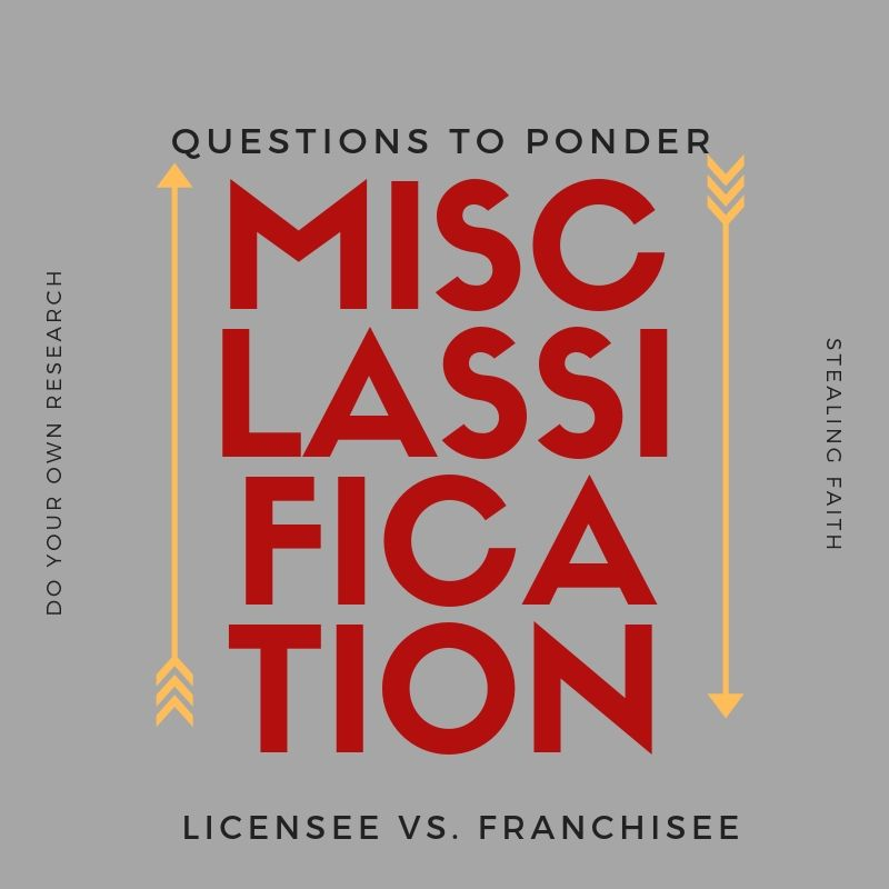 Licensee vs. Franchisee